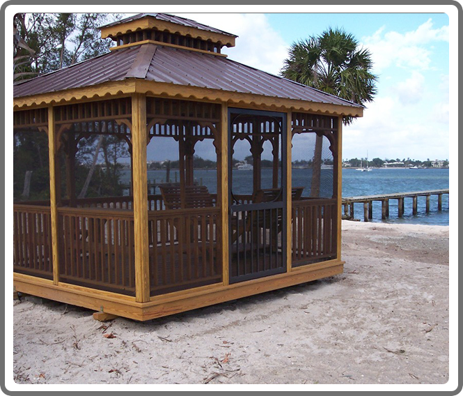 Gazebo With Screens