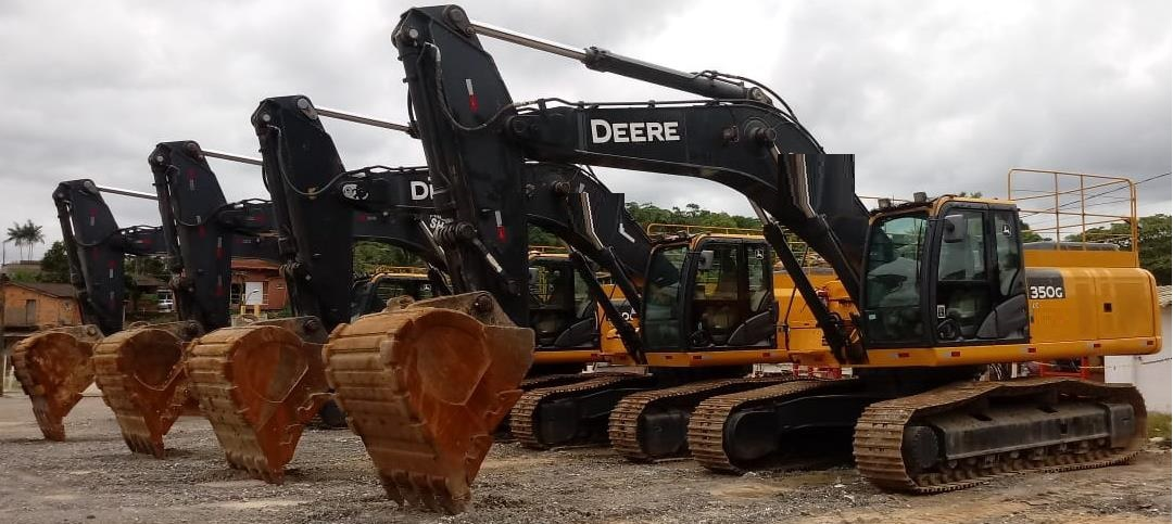 Escavadeira Hidráulica John Deere