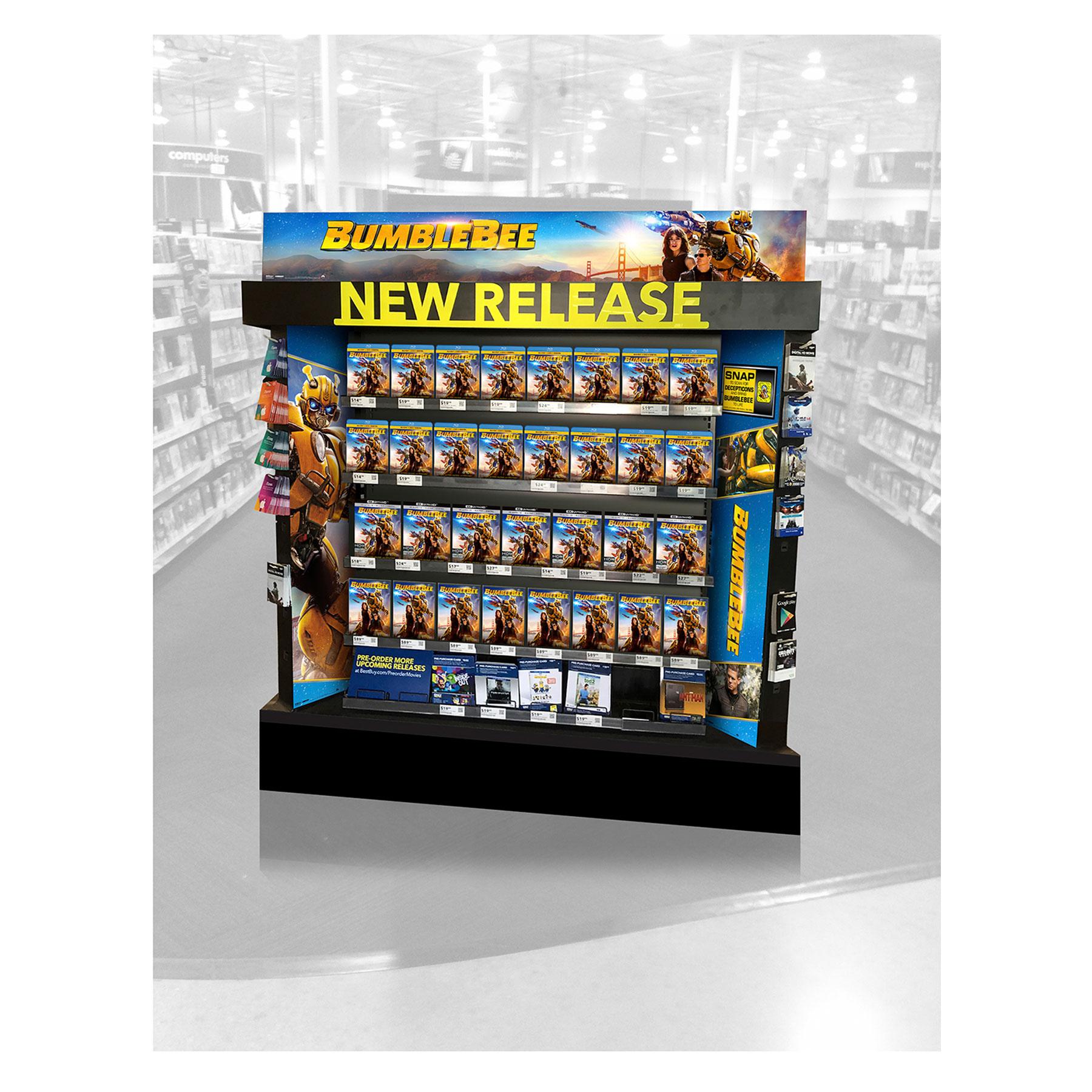 BumbleBee Best Buy New Release Display
