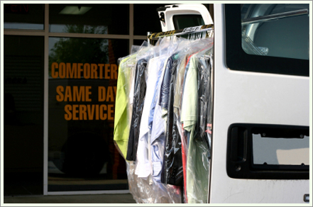 Dry cleaning services||||
