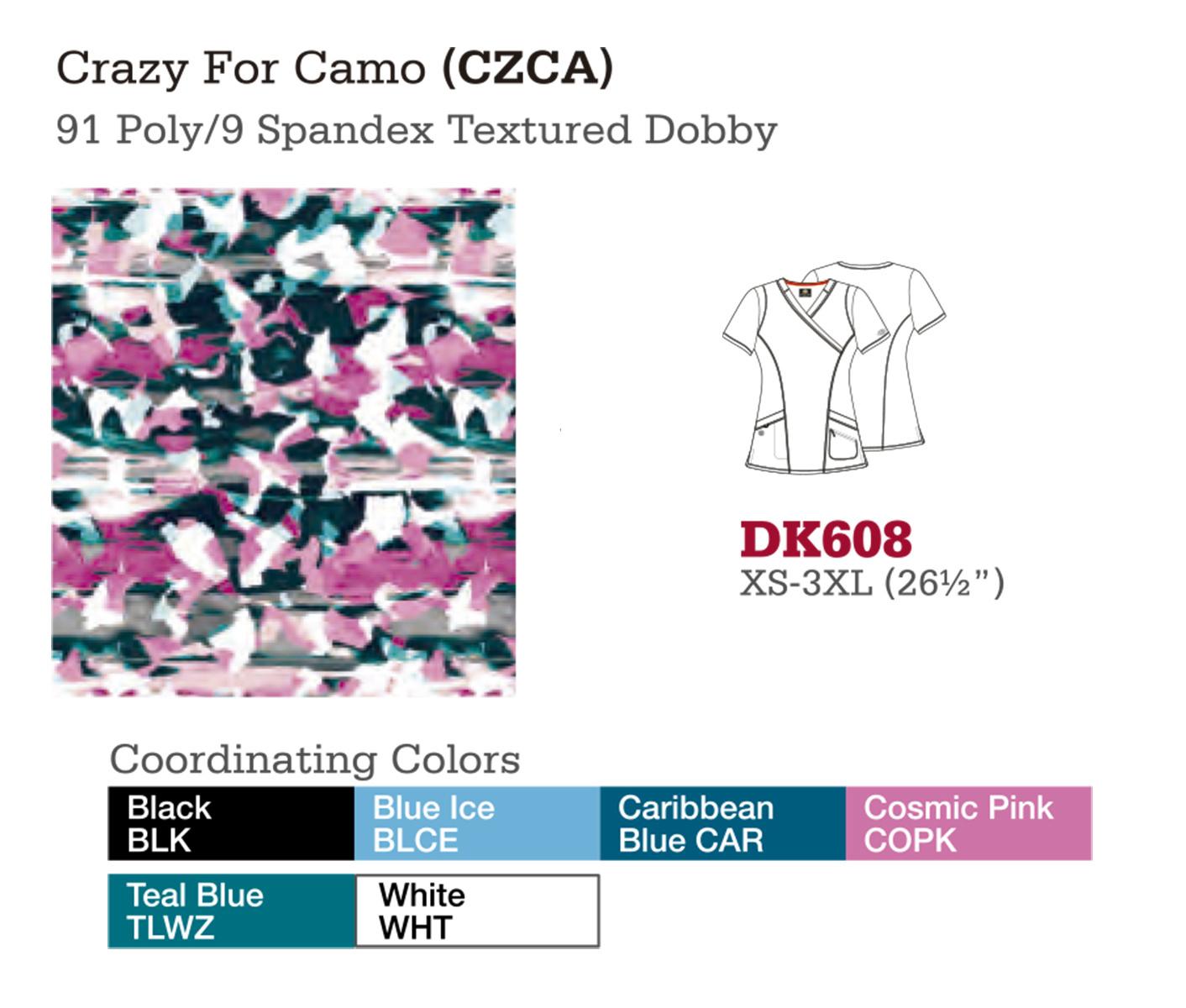 Crazy For Camo. DK608.