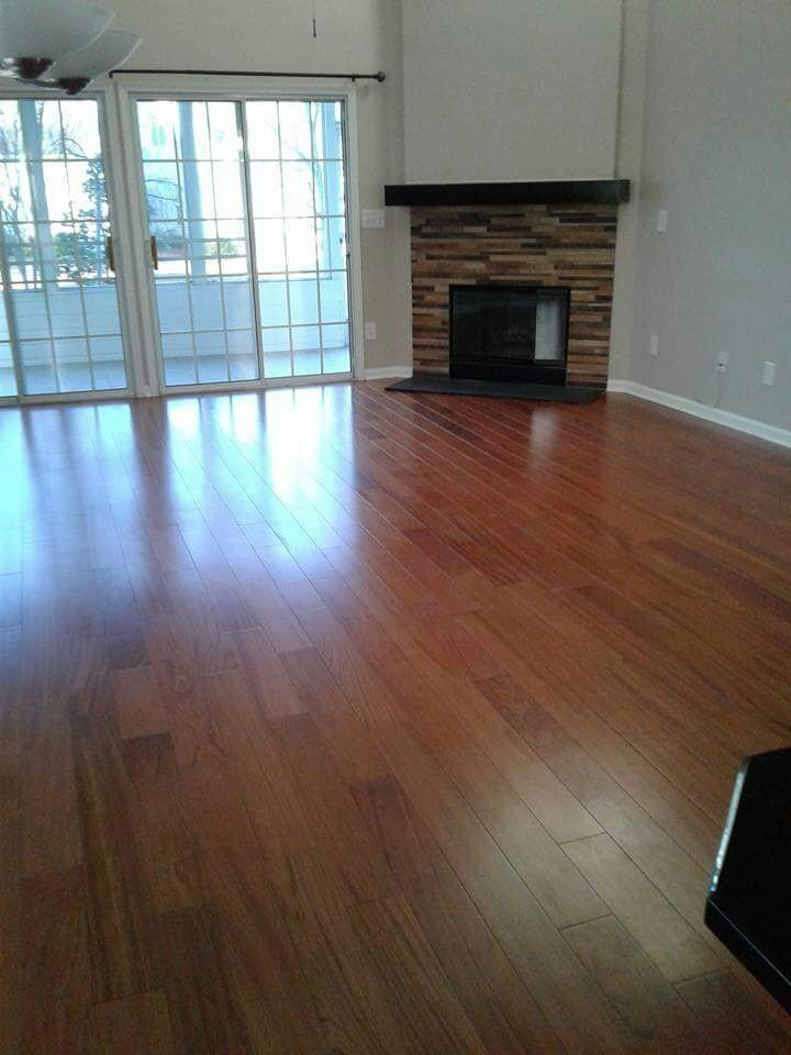 Newly Installed Flooring