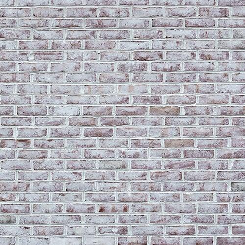 Whitewashed brick wall texture