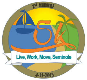 1st annual Live, Work, Move Seminole Medal