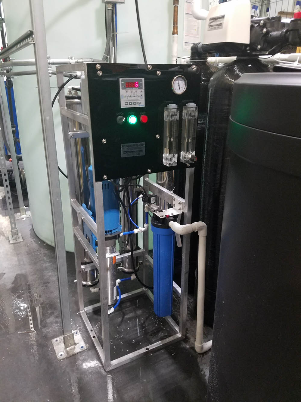 Reverse Osmosis System Control