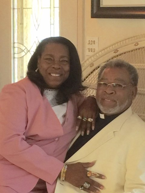 Pastor Charles R. Bradley and First Lady, Bessie Bradley