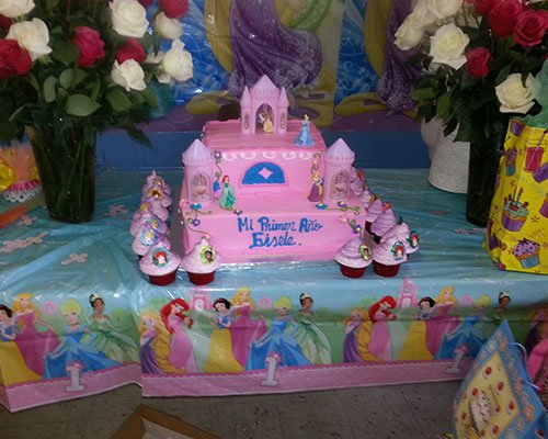 Princess-Themed Cake