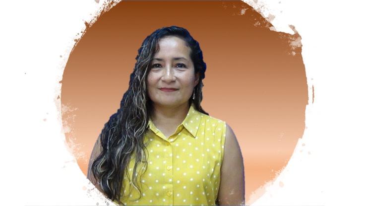 Gabriela Álvarez  Instructora e informante de la LSM