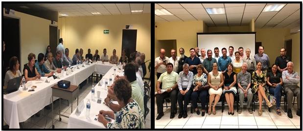 El día martes 21 de agosto estuvimos presentes en la reunión de consejeros de la Fiscalía General del Estado de Chiapas, y que tuvo lugar en la sala de juntas de la Fiscalía de distrito fronterizo costa.