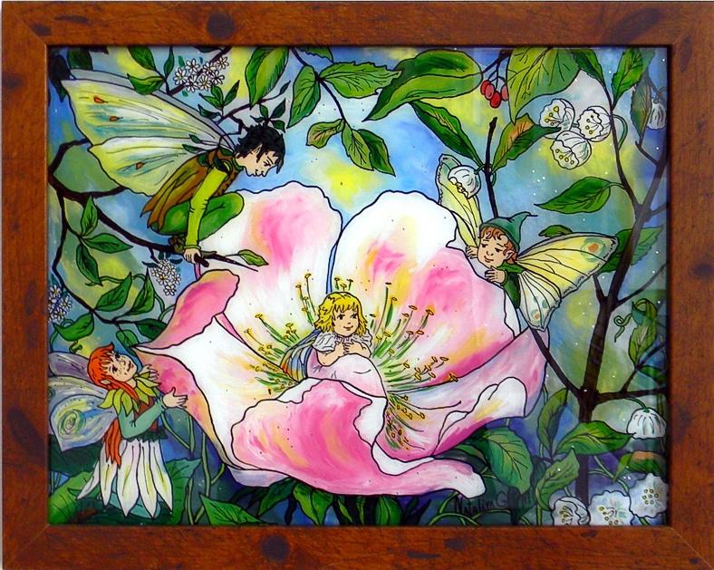 """Spring"" by Nataliya Guchenia  Size - 11""H X 14""W $300.00"