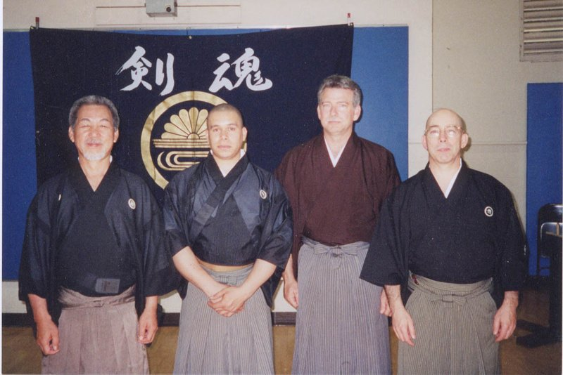 Suzuki Kunio Sensei, Roberto Siqueira, Carl McClafferty, Guy Power.