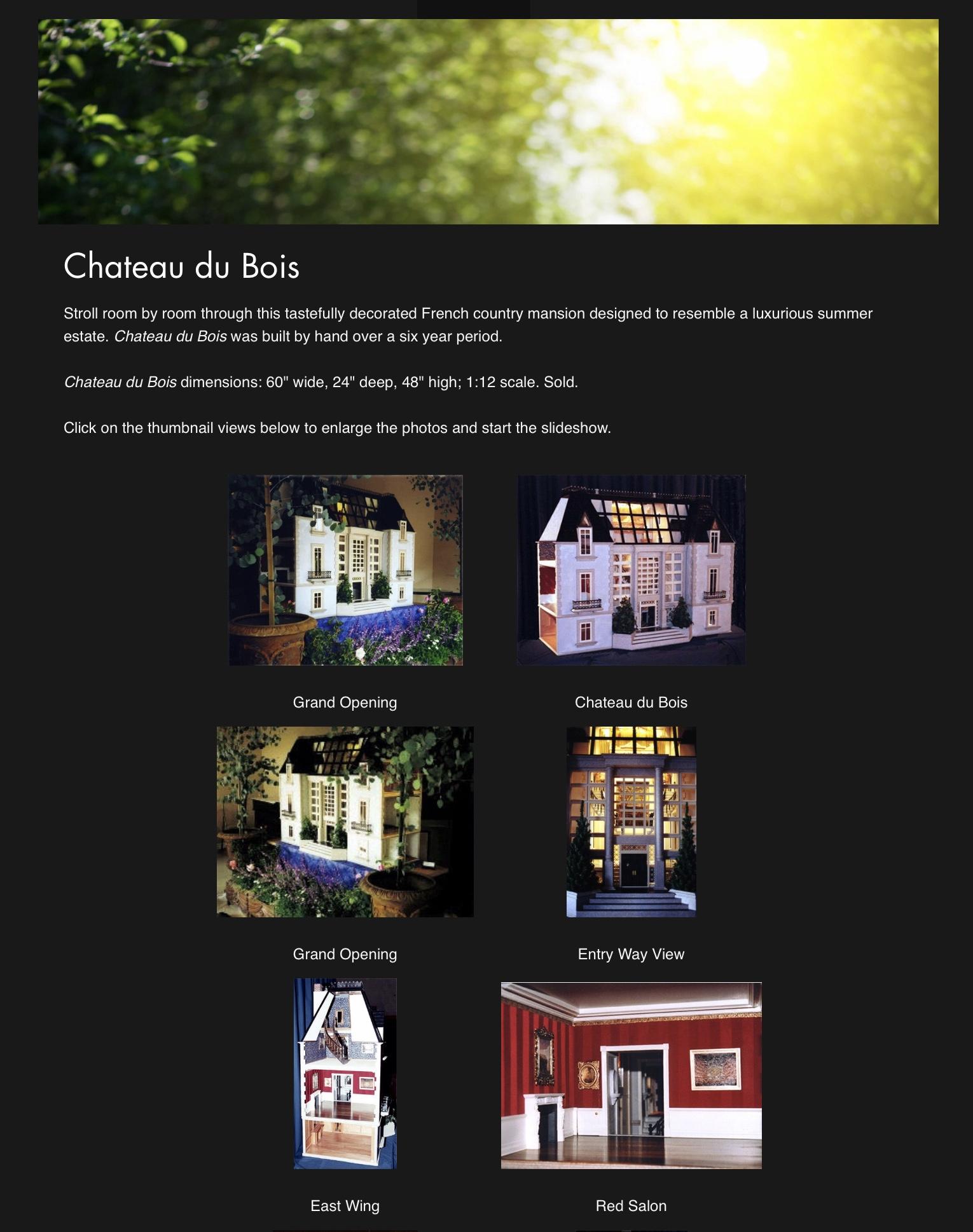 Chateau du Bois