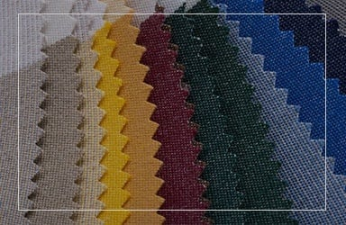 Multicolor Tone Of Fabric Sample