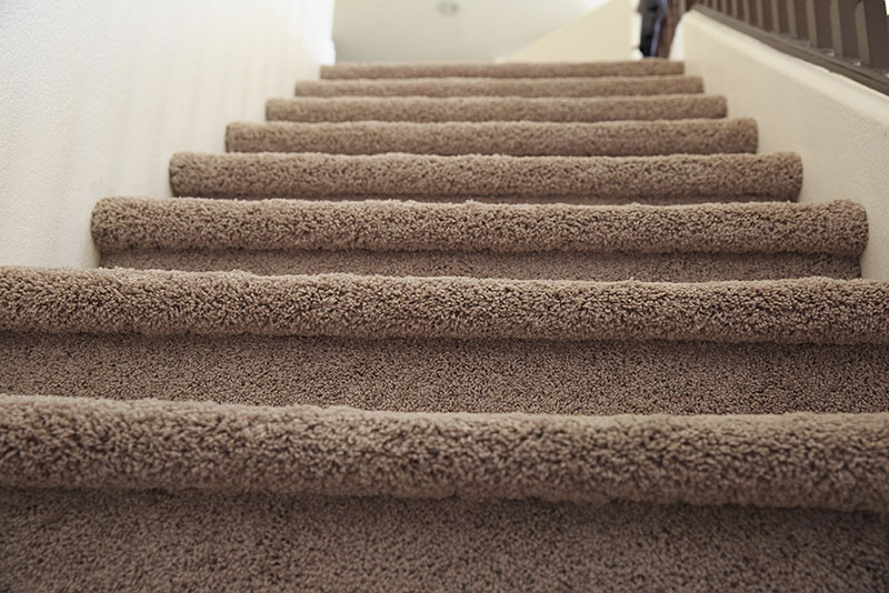 We Clean Carpeted Stairs