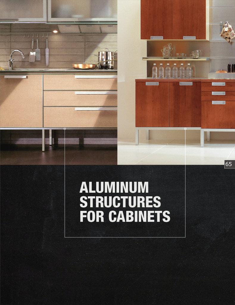 Aluminum Structures for Cabinets - Scilm America