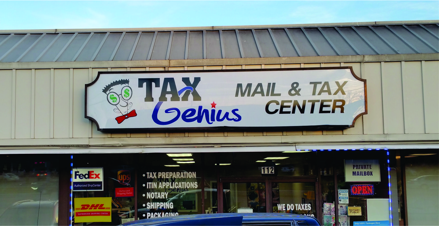 Lexan Sign for Storefront