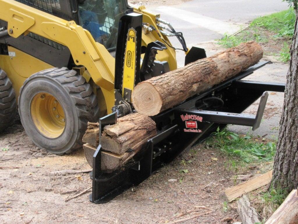 Four-Way Log Splitter