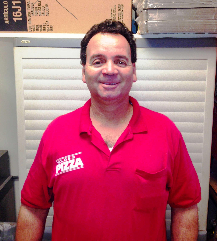 Robert,  a driver for Nola's since 2014.