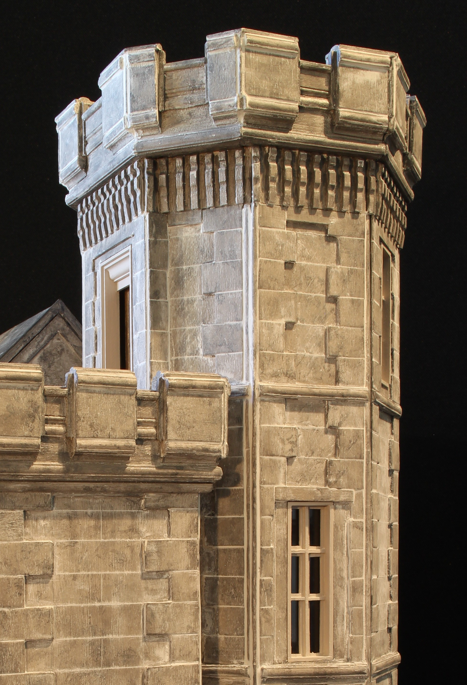 Elongated Octagonal Tower