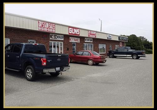 Jr's Gun Sales Storefront
