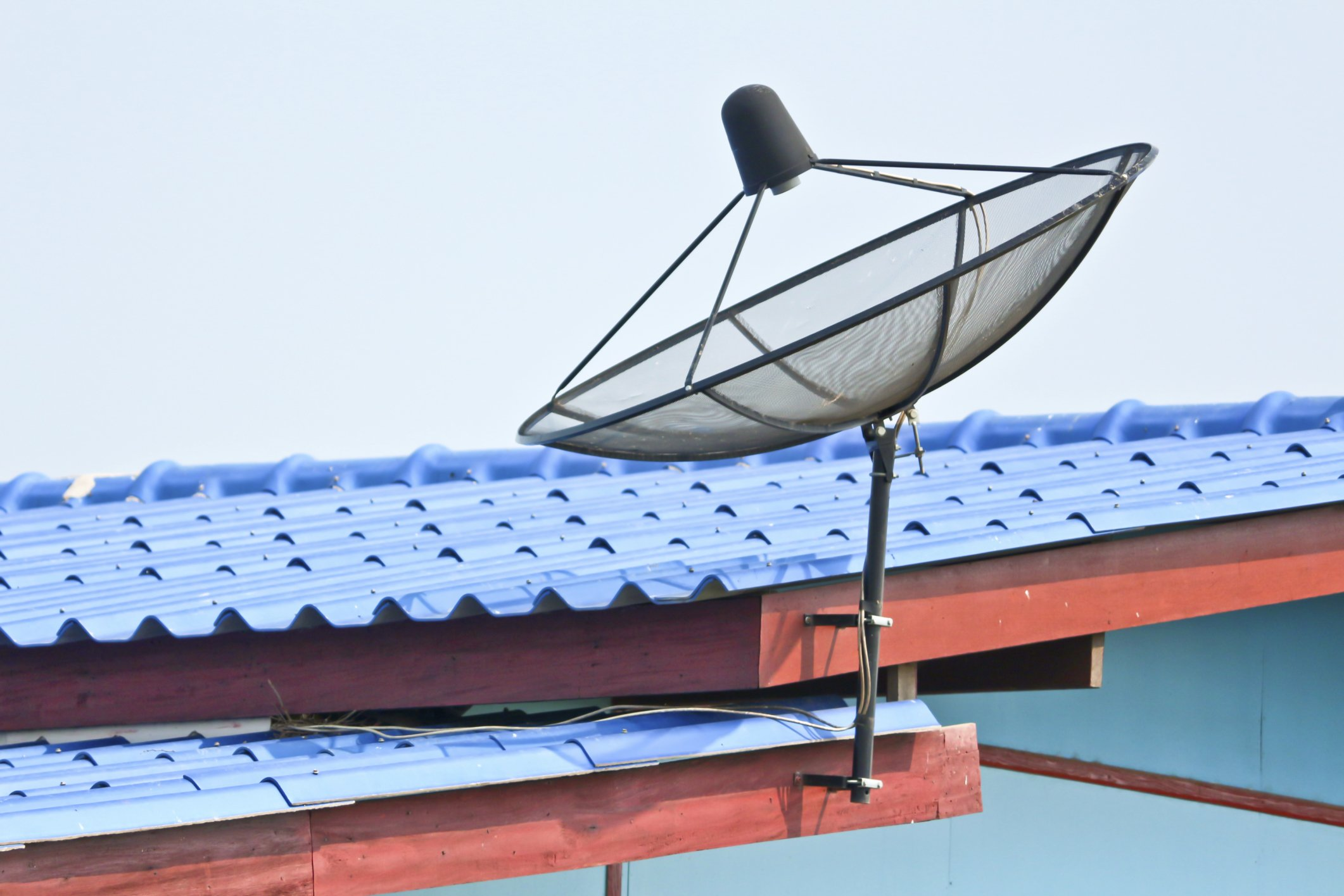 Satellite on Top of the Roof||||