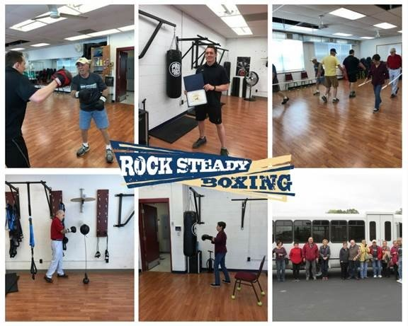 Rock Steady Boxing Gym