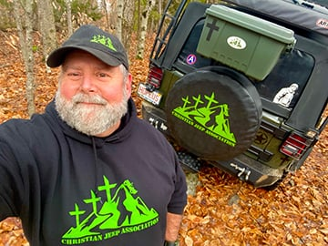 Pastor Leighton O'Connor  - Christian Jeep Association