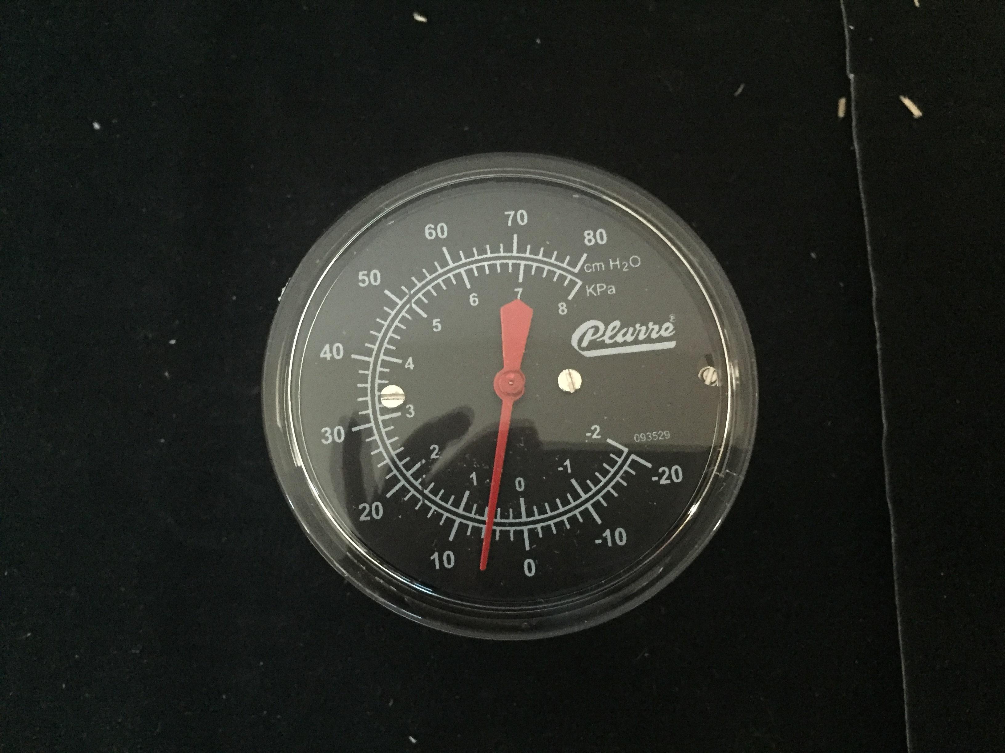 Manómetro plarre