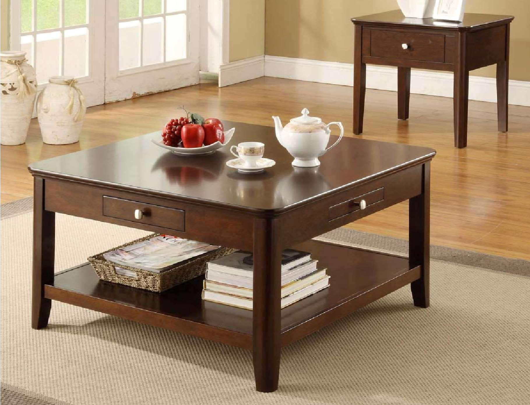 OT4266 Coffee and End Table Set