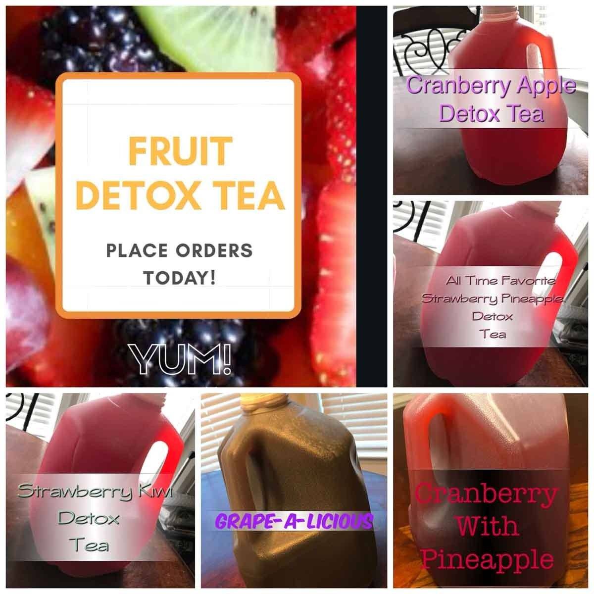 Fruit Detox Tea