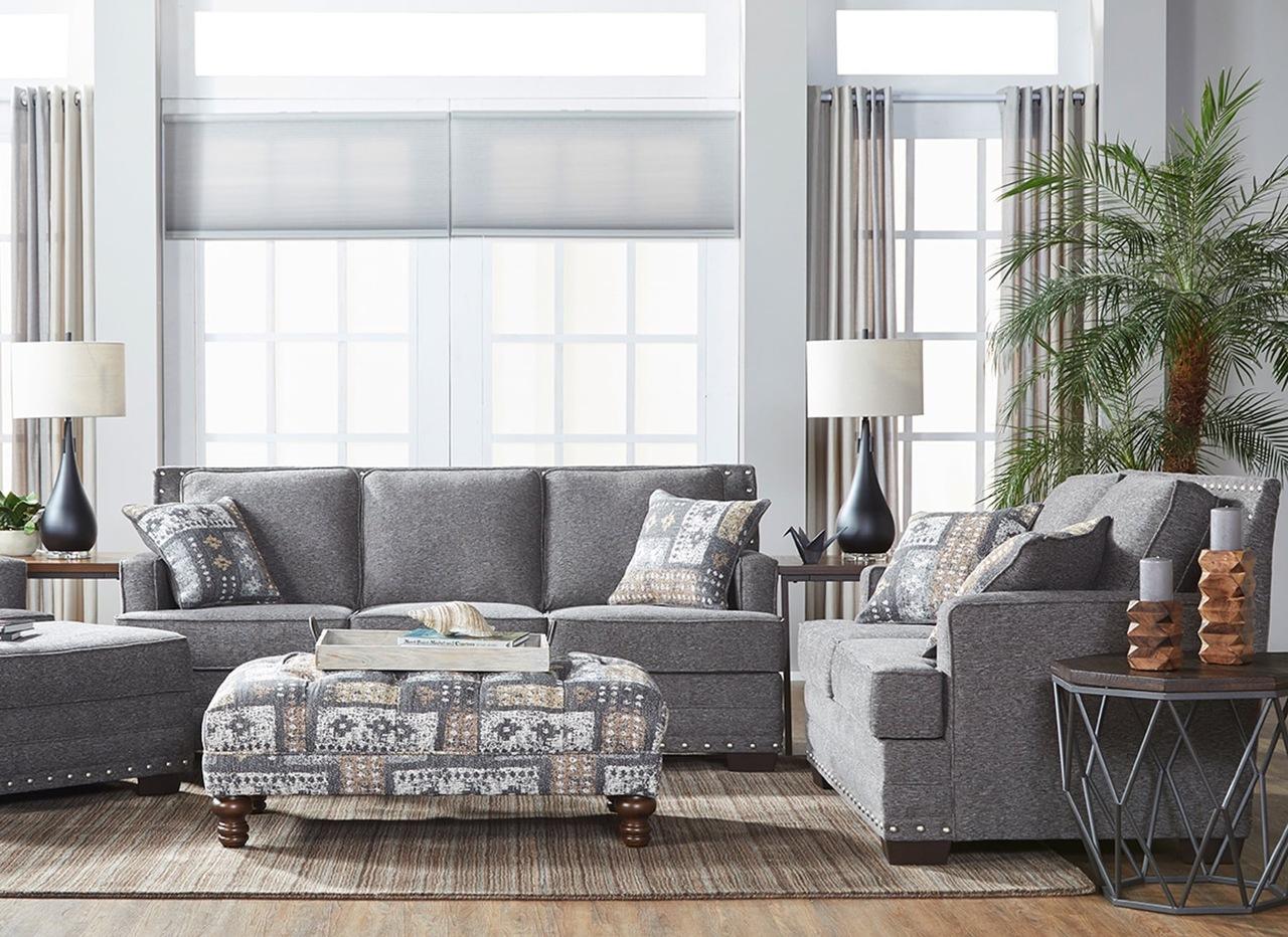 10180 Avenger Otter Sofa and Loveseat