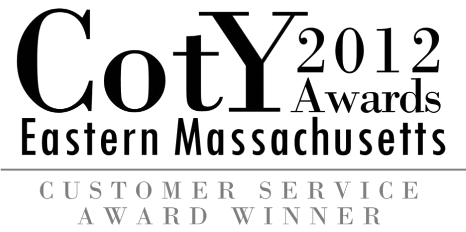 2012 CUSTOMER SERVICE AWARD