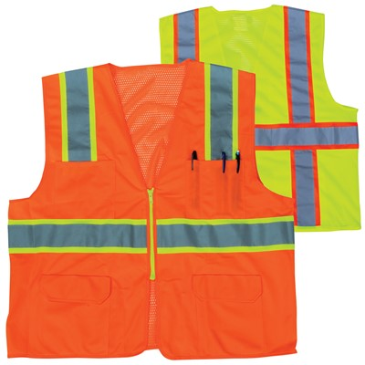 29 Orange Yellow Safety Vests