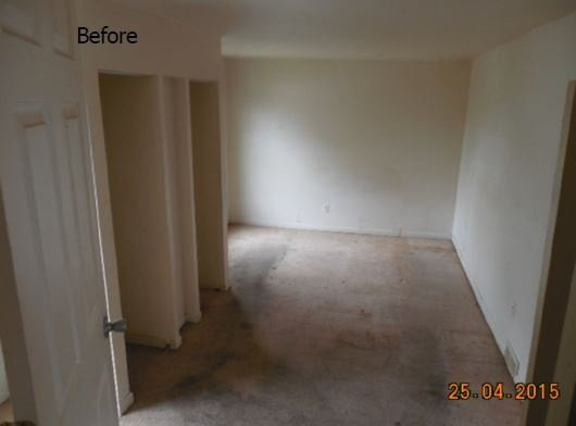 Before Built-In Cabinet Renovation