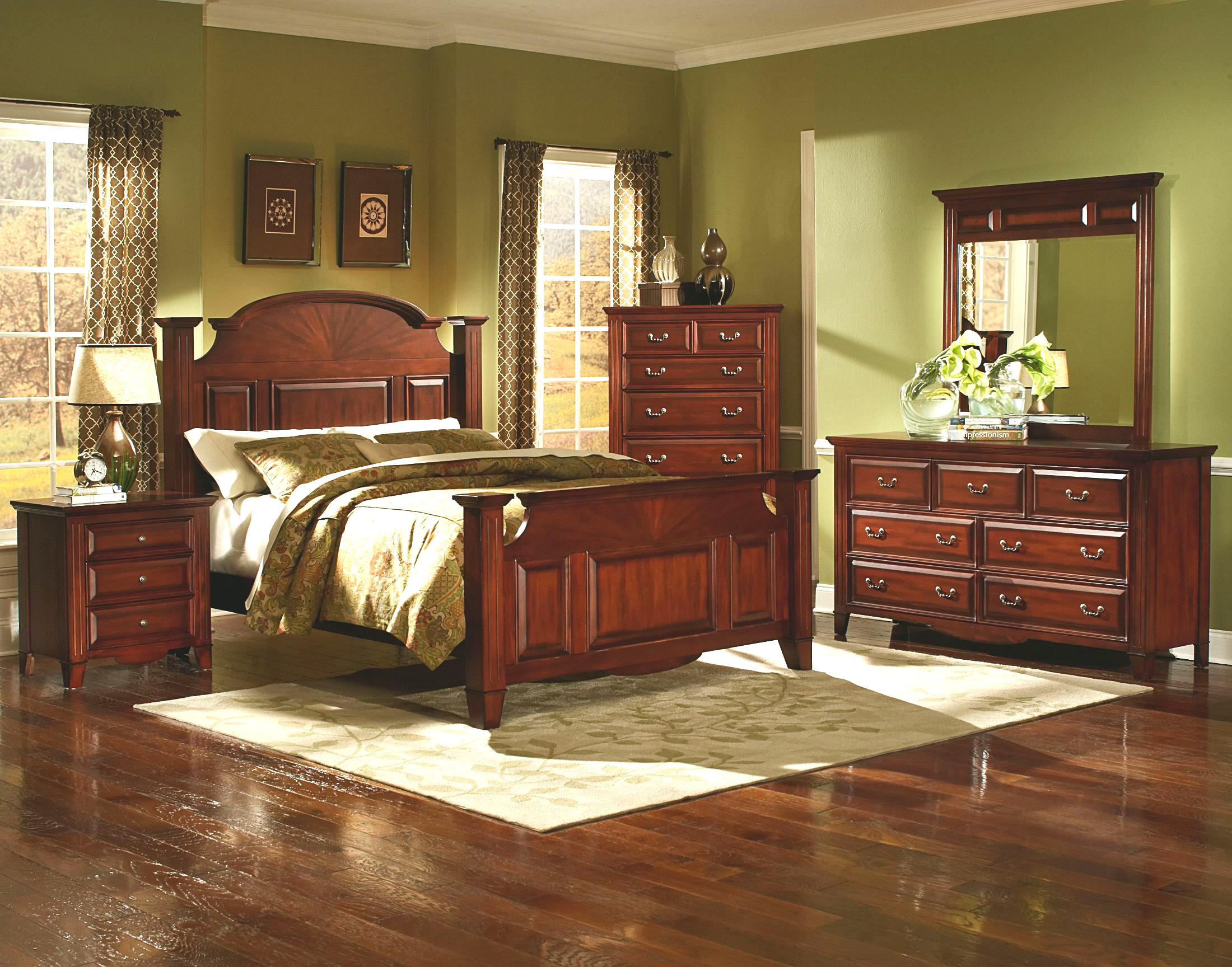 6740 drayton hall bedroom set