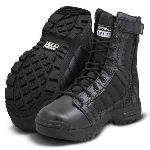 8  SWAT Boots Black