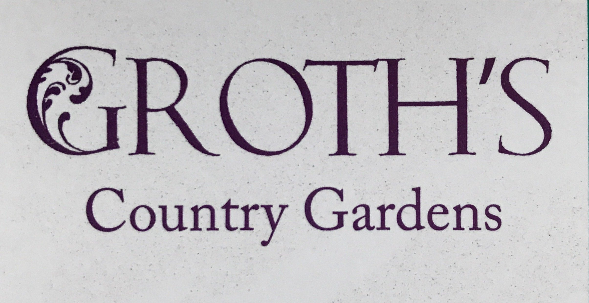 Groths Country Gardens