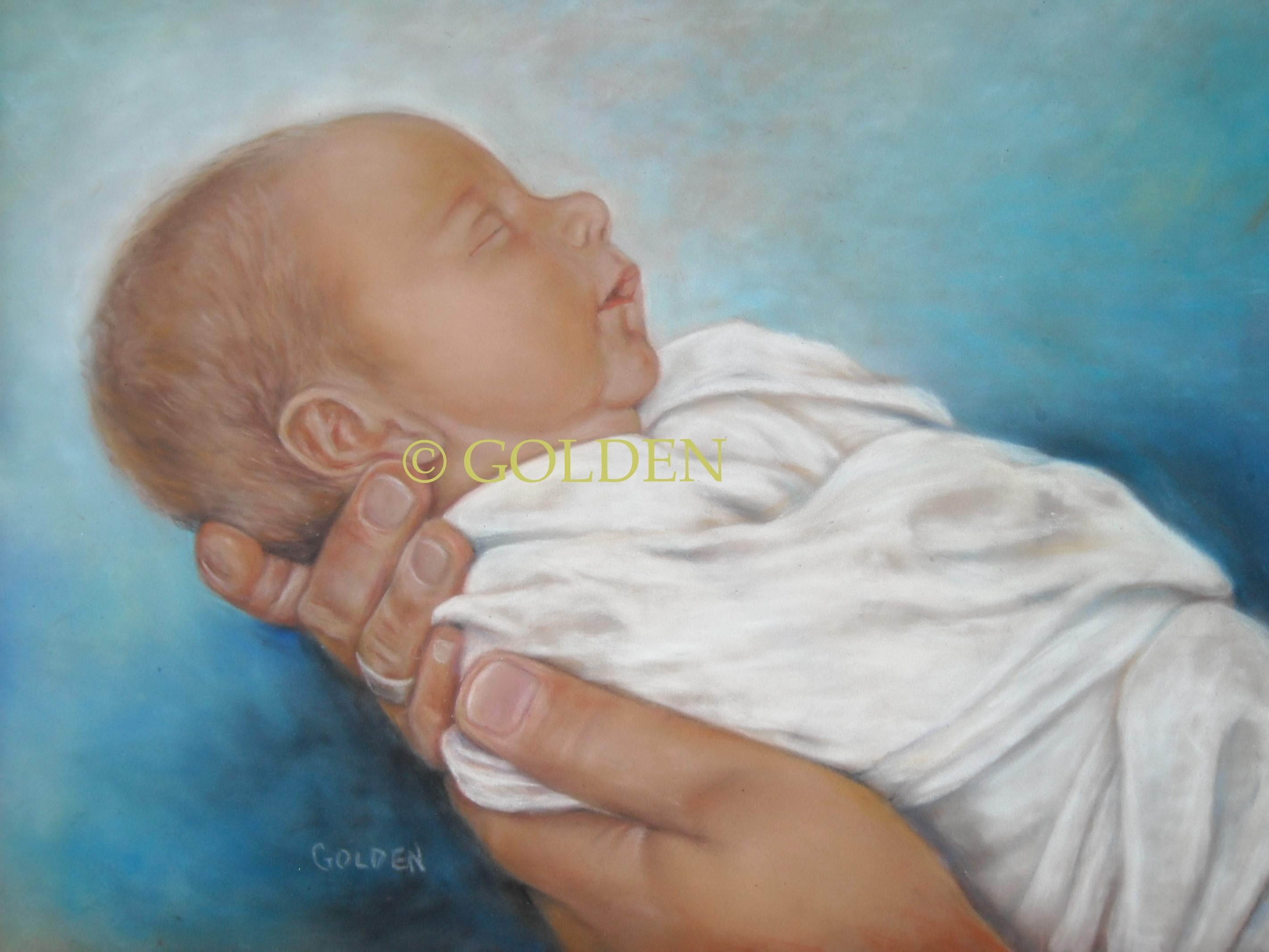 Private Collection, (pastel)