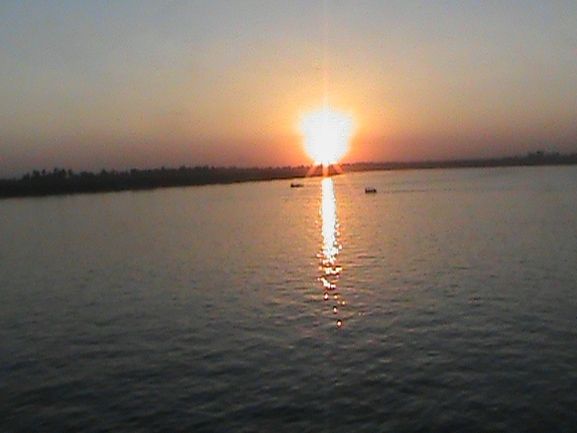 Sunwet on Nile River