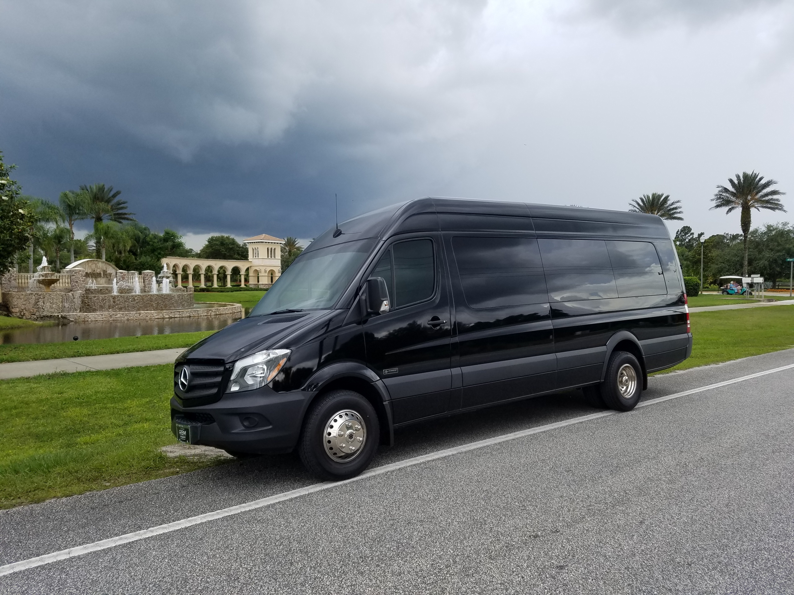 Our Mercedes Benz 14 Passenger Sprinter