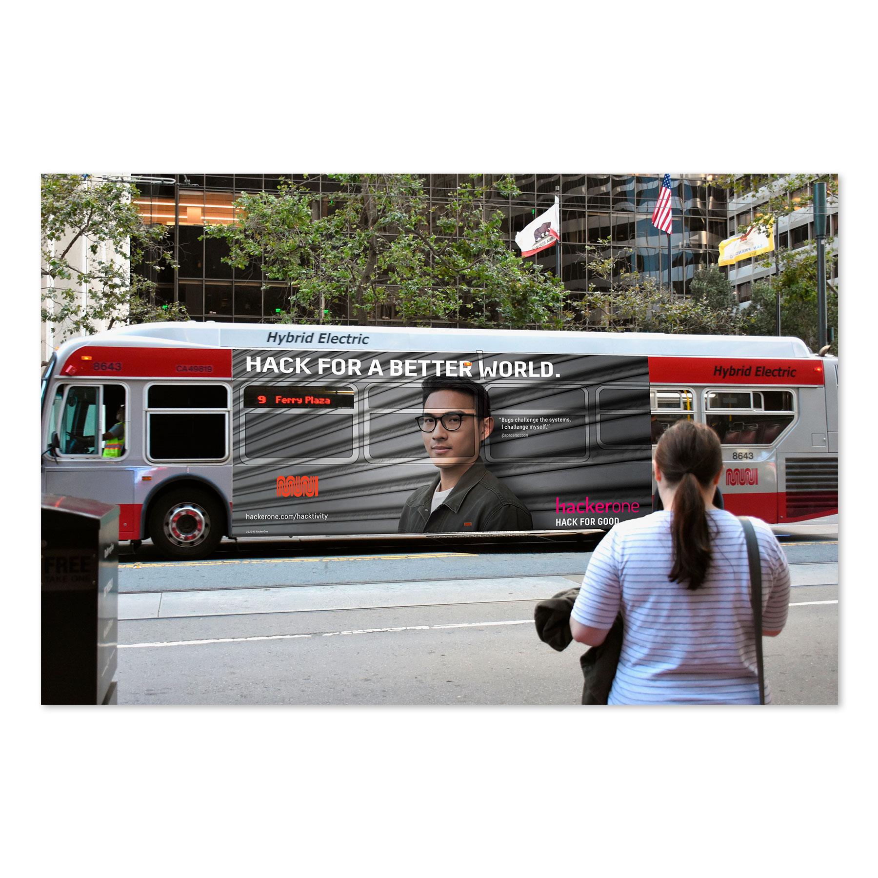 HackerOne Bus Ad