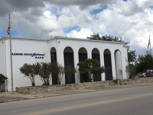 Karnes County National Bank 301 E. Calvert Ave. Karnes City, TX 78118 830 780-3317