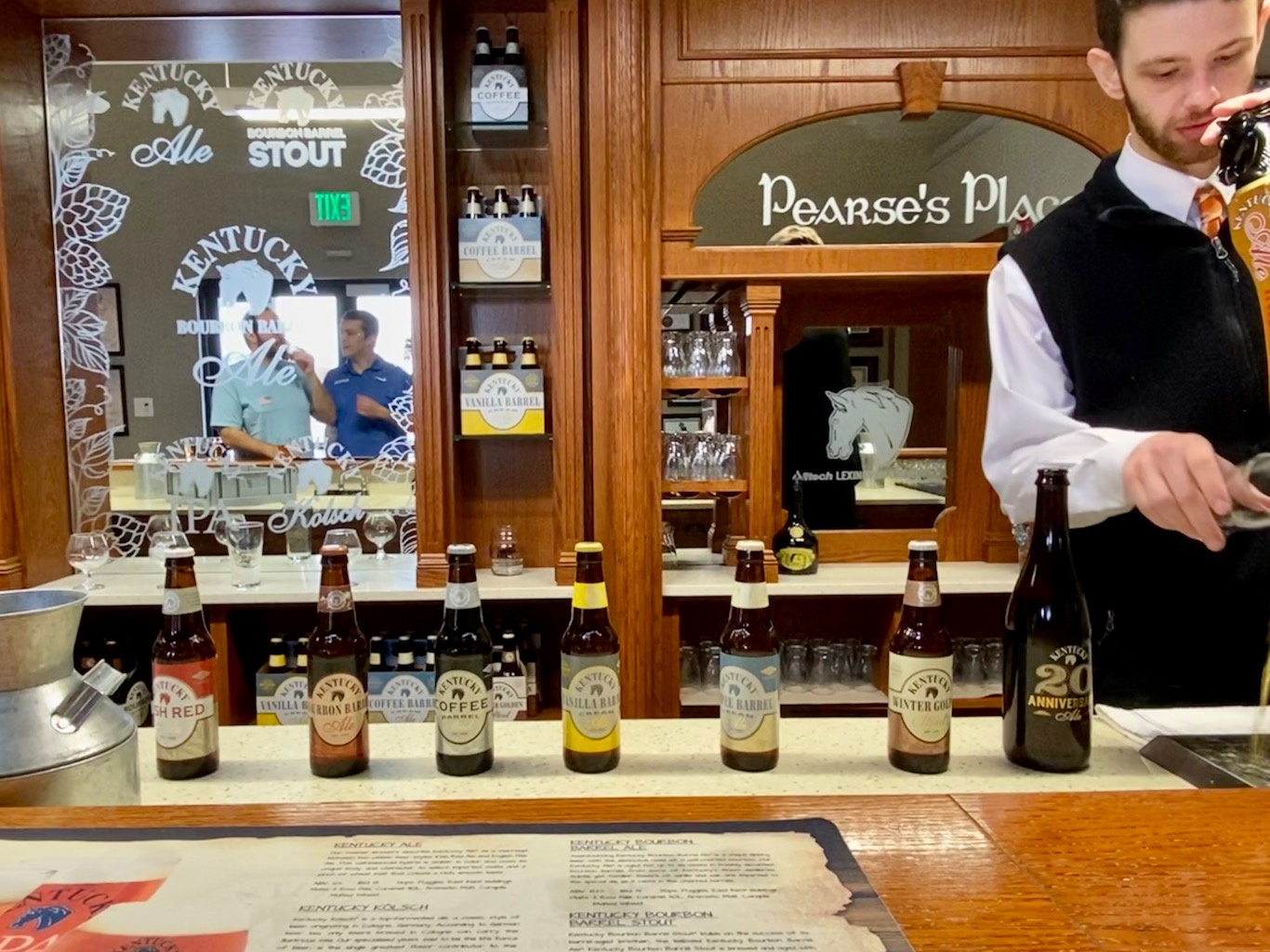 Pearse's Place - Beer Tasting Bar - Lexington Brewing & Distilling Co (Town Branch Distillery)