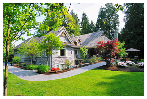Residential landscaping services||||