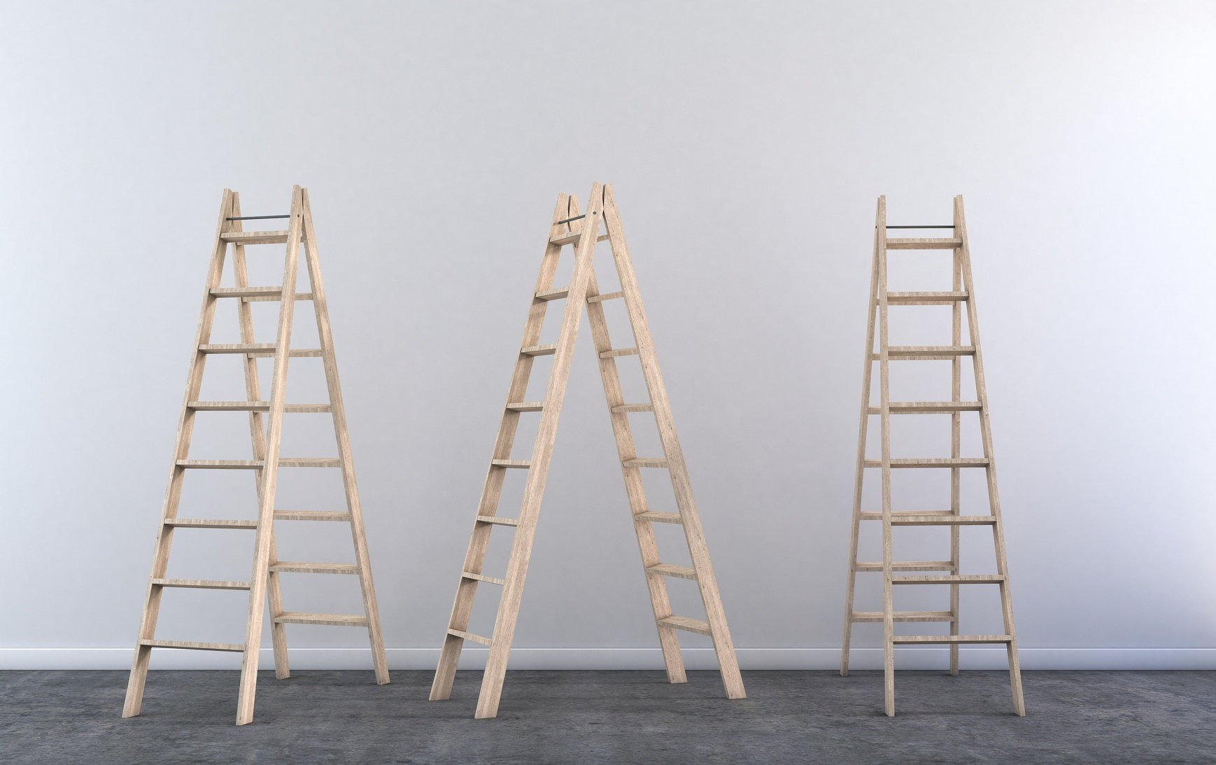 Ladder in 3 Positions