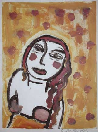 Brigitte McReynolds, Woman With Red Dots