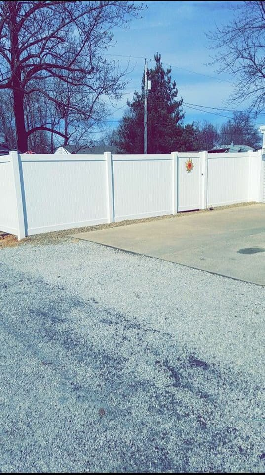 Privacy Fence With Gate