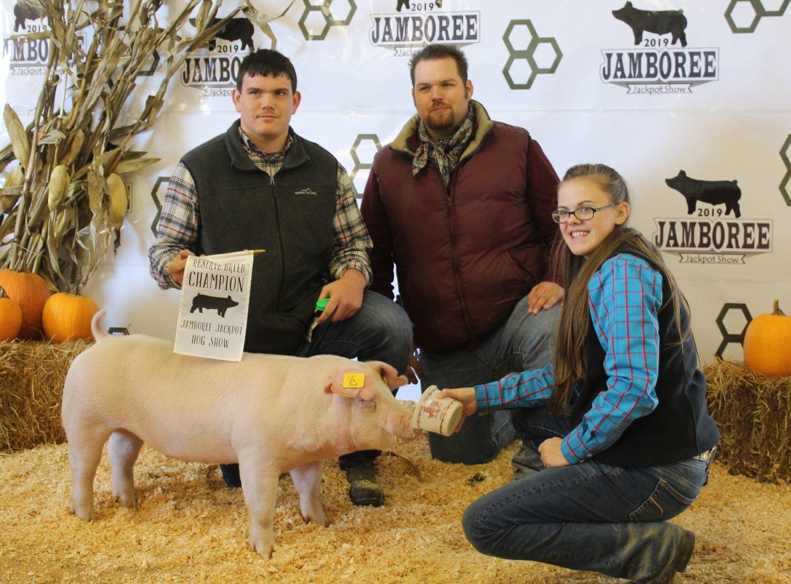 Riley Sneed 2019 Jamboree Jackpot Show Reserve Breed Champion