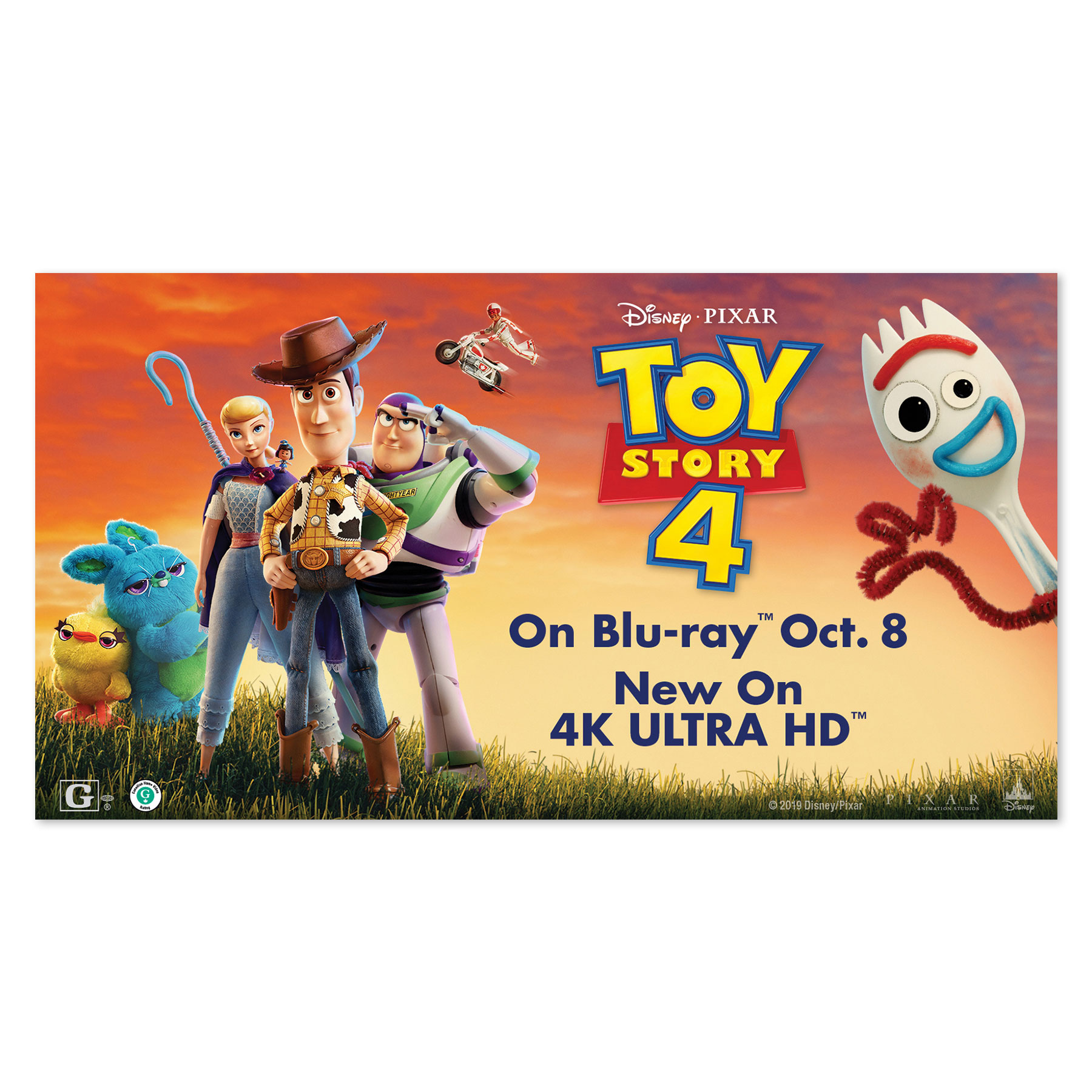 Toy Story TV Screen