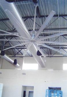 Big Fan Flat Oval Duct